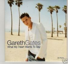 (C923) Gareth Gates, What My Heart Wants To Say - DJ CD