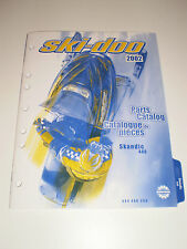 SKIDOO  PARTS CATALOG  MANUAL 2002 SKANDIC 440