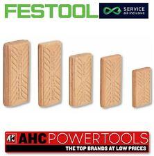 Festool 494939 6x40/190 BU SB DOMINO 6 x 40mm Beechwood Dowel 190 Pieces