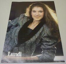 1988 Original Singer Celine Dion Signed Printed Photo #2