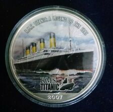 2007 Titanic Legend of The Seas Silver Dollar Flying Eagle Coin Maiden Voyage