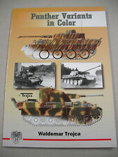 "1ST ED IN ENGLISH ""PANTHER VARIANTS IN COLOR"" BY TROJCA! MODEL & ARTIST REF!"
