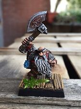 Warhammer Games Workshop dwarf hero BUGMAN'S RANGER CHAMPION Oop pro painted