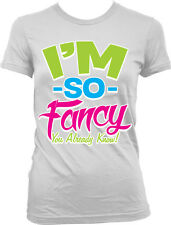 I'm So Fancy You Already Know Hip Hop Song Lyrics Neon Juniors T-shirt