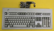 Vintage IBM Model M Keyboard, Part Number 1391401 w/ connecting cable