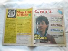 GRIT AMERICA'S FAMILY PUBLICATION-DECEMBER 6,1987-KIRK CAMERON