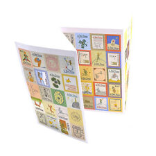 4 Pages Retro Little Prince Decorate Diary Calendar Stationery Stamp Stickers