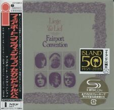 FAIRPORT CONVENTION Liege & Lief Japan Mini LP SHM-2 CD Deluxe Edition ss NEW!!!