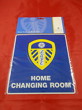 Leeds United FC Decorative Metal ''Changing Room'' Sign - Official Merchandise