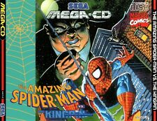 ## Amazing Spider-Man vs. the Kingpin - SEGA Mega-CD / MCD Spiel - TOP ##
