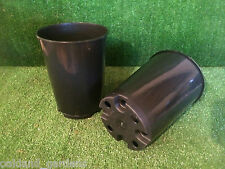 10 X DEEP 3 LITRE L LT ROSE POTS PLASTIC PLANT POT TOP QUALITY