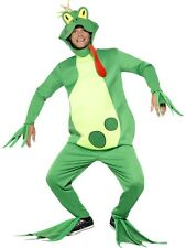 "Mens Frog Prince Fancy Dress Costume Outfit M 38-40"" Stag Party New by Smiffys"