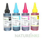 4 100ml Universal Premium Printer Refill to replace Epson Brother HP ink Bottles
