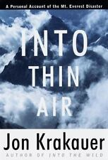 Into Thin Air: A Personal Account of the Mount Everest Disaster (Modern Library