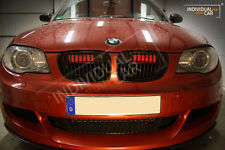 BMW 1er E82 Coupé E88 Cabrio - Air Scoops Rot-