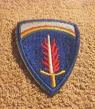 U.S . MILITARY  PATCH    ARMY   ( L#  M9)   **NICE PRICE**  (FREE  SHIPPING)