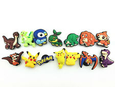 14 Pokemon Pikachu the Dinosaur Shoe Charms for Fit Croc Wristband