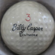 (1) BILLY CASPER BILTMORE SIGNATURE LOGO GOLF BALL (CIR 1966) #3