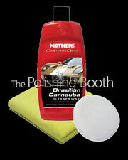 Mothers California Gold Brazilian Cleaner Wax + Microfibre & MF Applicator