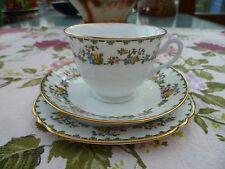 Vintage / Antique Court China Trio Tea Cup Saucer Plate William Lowe 7384