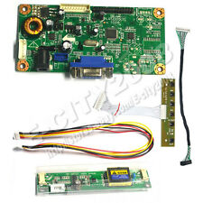 "VGA LCD Controller board kits Test 15""inch M150XN07 V2 1024*768 DIY LED Monitor"