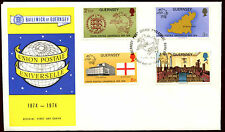 Guernsey 1974 UPU FDC First Day Cover #C32291