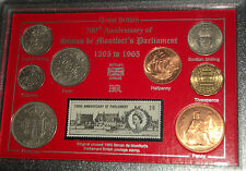 Simon de Montfort British English Parliament History Coin & Stamp Gift Set 1965