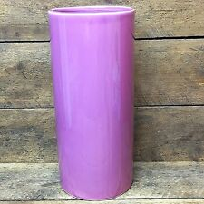 Vintage Inarco Mauve Colored Ceramic Vase - Made in Japan