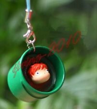 Ponyo on the Cliff by the Sea Ponyo Phone Key Pendant New