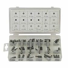 Rolson Screwdriver Bit Assortment 60 Pieces 61281 PZ1 PZ2 PZ3 Hex 2 3 4 6