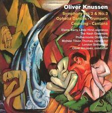 Oliver Knussen: Symphonies Nos. 2 & 3; Ophelia Dances; Trumpets; Coursing;...