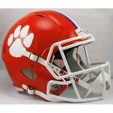 CLEMSON TIGERS NCAA Riddell SPEED Full Size Replica Football Helmet