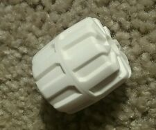 LEGO 6983 Ice Station Odyssey Planet White Hard Plastic Wheel Technic RARE