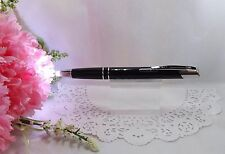 2 in 1 Marval Black Lighted Tip Night Writer Ballpoint Pen  - HIGH QUALITY