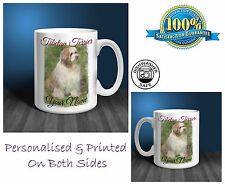 Tibetan Terrier Personalised Ceramic Mug: Perfect Gift. (D127)