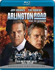 ARLINGTON ROAD (1999 Tim Robbins, Jeff Bridges) -  Blu Ray - Sealed Region free
