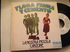 "FLORA FAUNA Y CEMENTO SPANISH WHITE LABEL 7"" SINGLE SPAIN PROG ROCK LA NOSTRA"