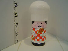 CHEF AND HIS HAT TWO PIECE SALT & PEPPER SHAKER SET