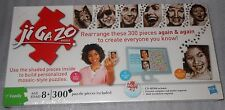 NIB Jigazo Puzzle Custom 300 Pieces Create Everyone You Know CD Rom Hasbro NEW