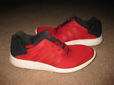 Adidas Pure Boost Men's 11.5 RARE Ultra Gym Red S79270 Pre-Owned EXCELLENT Cond.