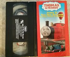 Thomas and Friends VHS James & The Red Balloon and Other Thomas Adventures