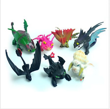 7 PCS/set How To Train Your Dragon Figure Toys play set Gift for kid