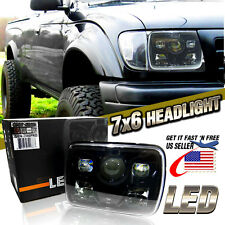 "7x6"" LED Built In CREE HID Bulbs Seal Beam Low Beam Headlight Headlamp Assembly"