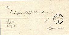 Thurn und Taxis, Brief aus Schlüchtern nach Steinau, Feuser Nr. 3173-5