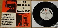 "THE RIPCHORDS ~ RINGING 4-TRACK EP ~ UK PUNK CELLS 7"" 1979 ~ GREAT CONDITION"