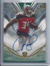 CHARLES SIMS 2014 TOPPS SUPREME GREEN BUCCANEERS ROOKIE ON CARD AUTO RC #D 3/10