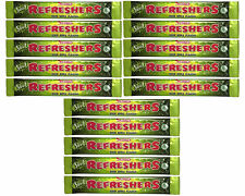 15 x Swizzels Refreshers Sour Apple Flavour Chew Bars - Free Shipping in UK