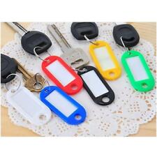 5X Wholesale Plastic Key Tags Assorted Key Rings ID Tags Name Card Label Quality