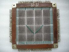 BIG USSR Soviet Magnetic Ferrite Core Memory plate 1960-s BESM-4 Mainframe RARE!