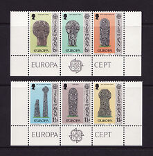 1978 Isle of Man, Europa, Manx Crosses, NH Mint set of Stamps. SG 133-8